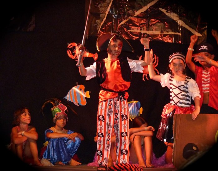 Spectacle Enfants Pirates